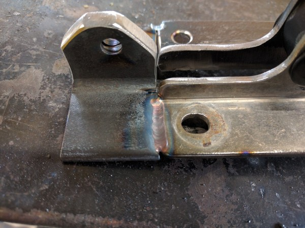 ステンレスと鉄を溶接