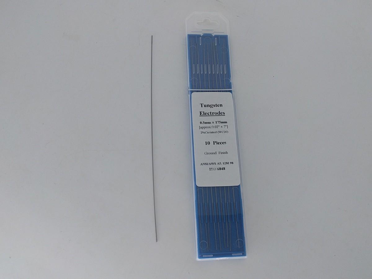 φ0.5mmタングステン電極