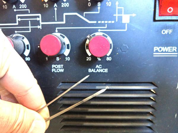 タングステン電極サイズ違い