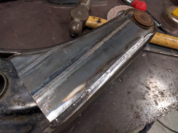 補強板溶接