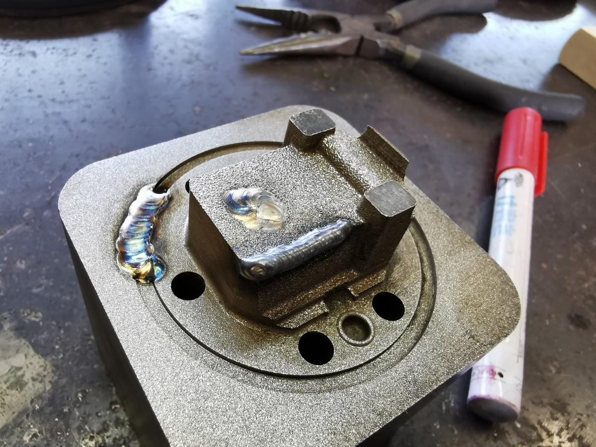 鋳物の補修