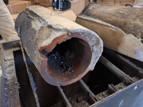 水道管の解体