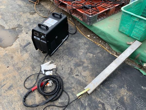 エアープラズマ切断機WT-100(三相200V)