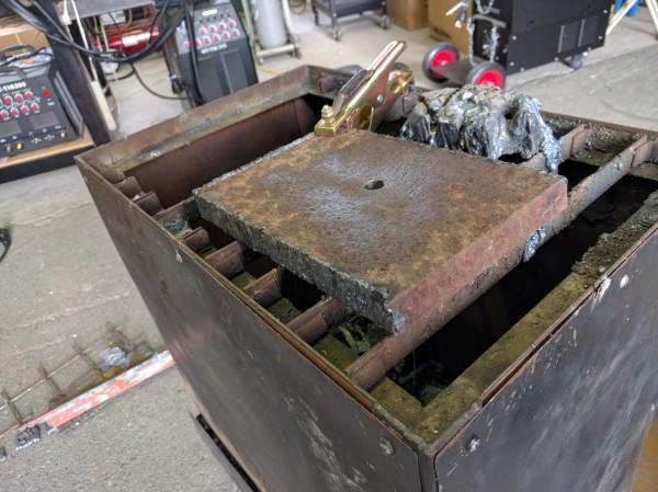 厚み20mmの鉄板